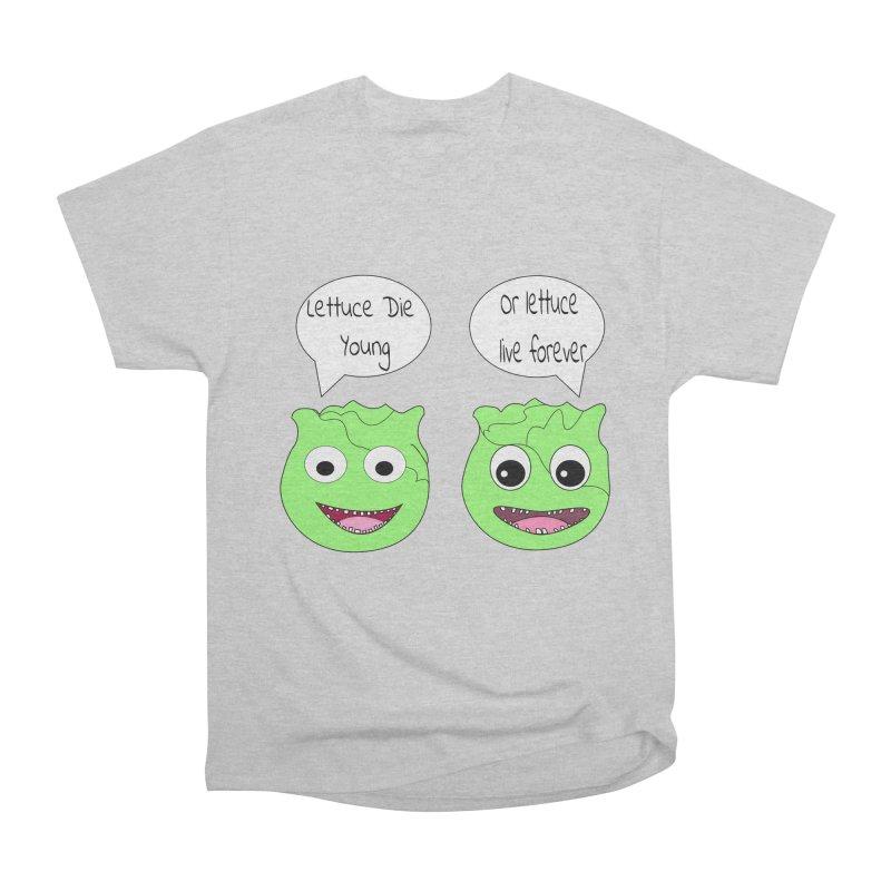 Forever Lettuce (Misheard Song Lyric)  Men's Heavyweight T-Shirt by Birchmark