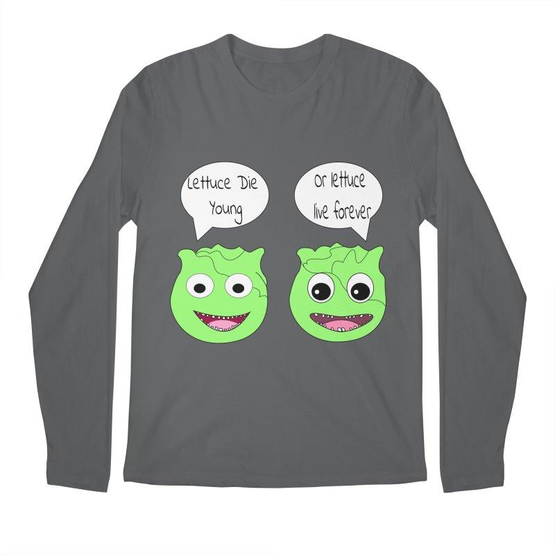 Forever Lettuce (Misheard Song Lyric)  Men's Longsleeve T-Shirt by Birchmark
