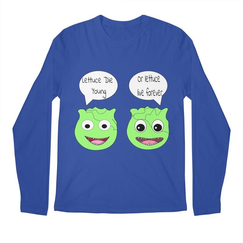 Forever Lettuce (Misheard Song Lyric)  Men's Regular Longsleeve T-Shirt by Birchmark