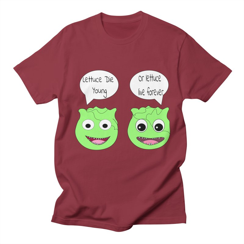 Forever Lettuce (Misheard Song Lyric)  Women's Unisex T-Shirt by Birchmark