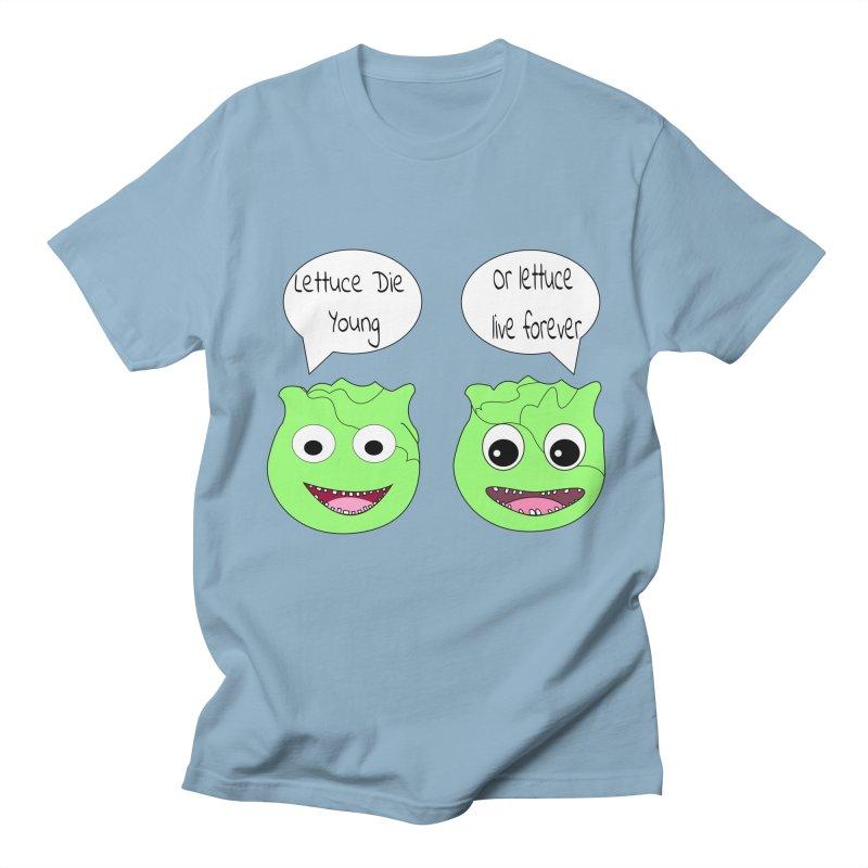 Forever Lettuce (Misheard Song Lyric)  Men's Regular T-Shirt by Birchmark