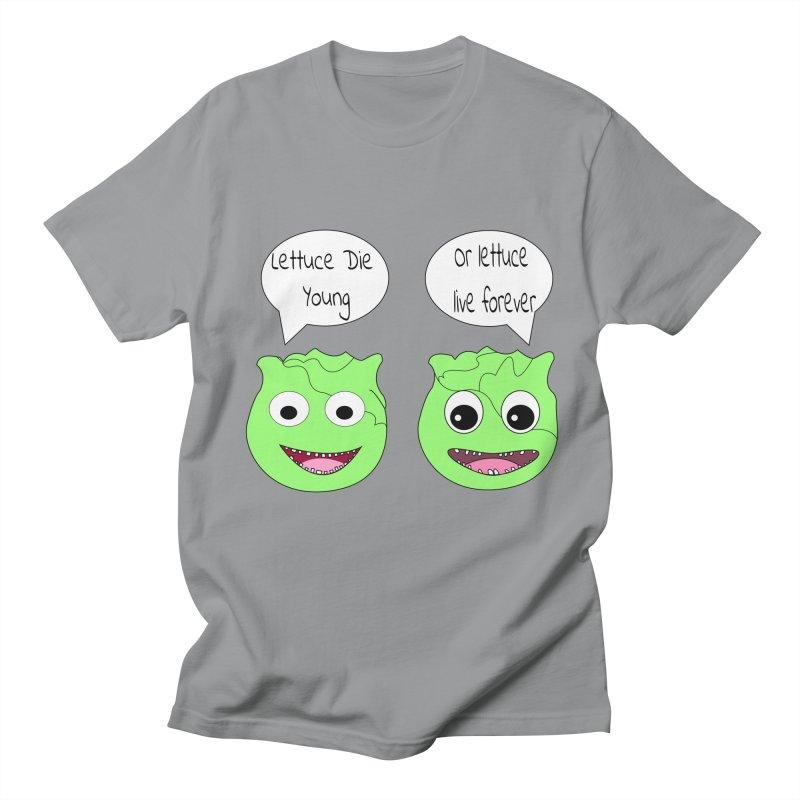 Forever Lettuce (Misheard Song Lyric)  Men's T-Shirt by Birchmark