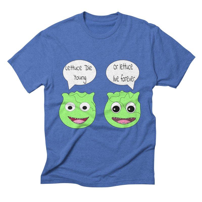 Forever Lettuce (Misheard Song Lyric)  Men's Triblend T-Shirt by Birchmark