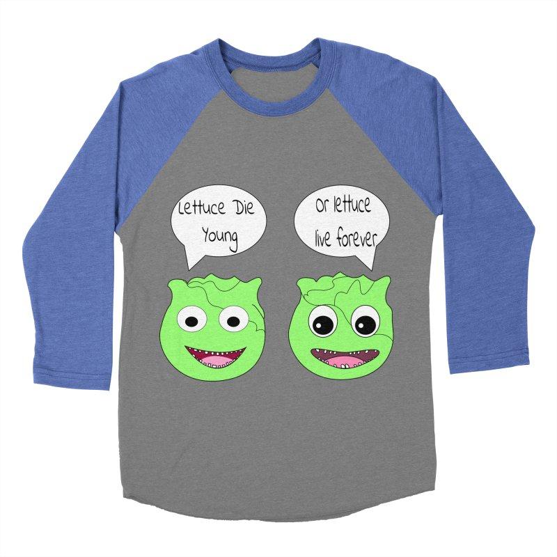 Forever Lettuce (Misheard Song Lyric)  Men's Baseball Triblend Longsleeve T-Shirt by Birchmark