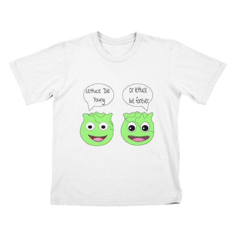 Forever Lettuce (Misheard Song Lyric)  Kids T-Shirt by Birchmark