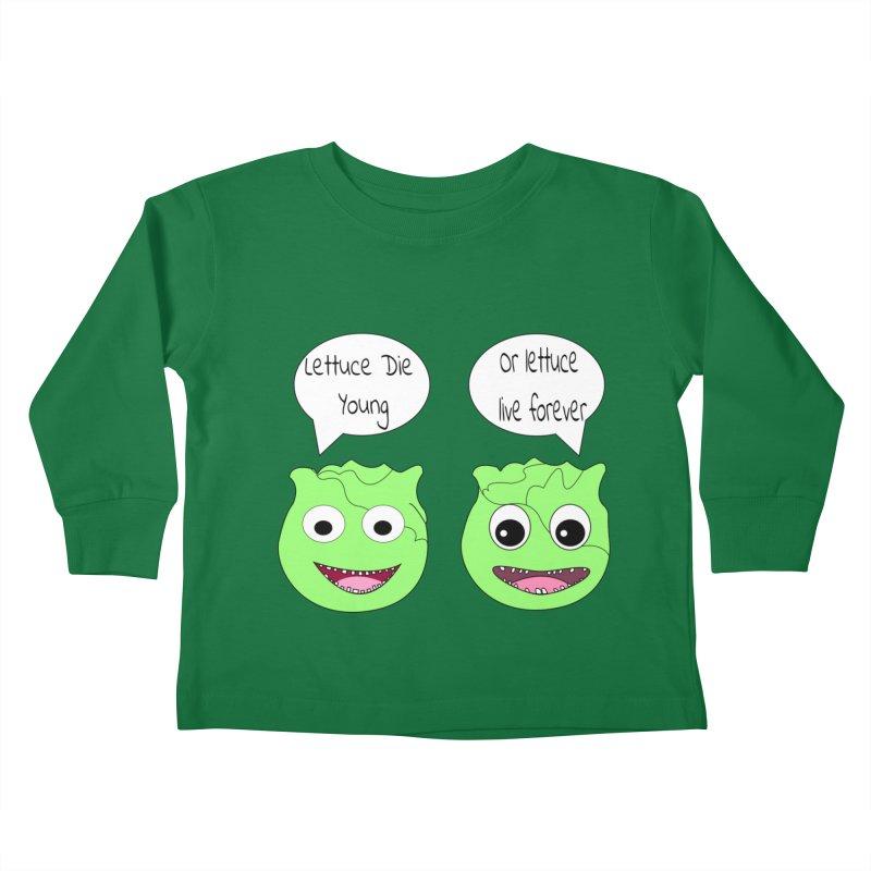 Forever Lettuce (Misheard Song Lyric)  Kids Toddler Longsleeve T-Shirt by Birchmark