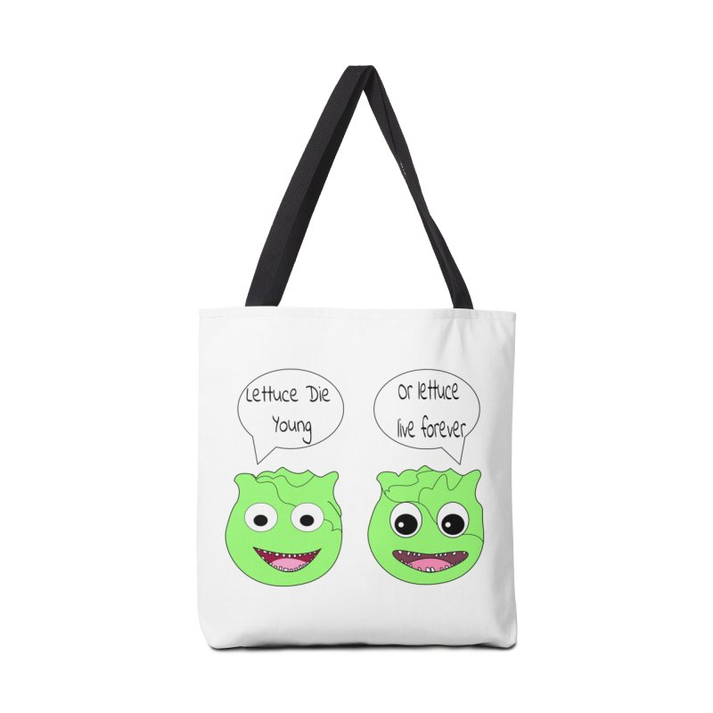 Forever Lettuce (Misheard Song Lyric)  Accessories Bag by Birchmark