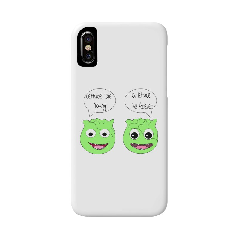 Forever Lettuce (Misheard Song Lyric)  Accessories Phone Case by Birchmark