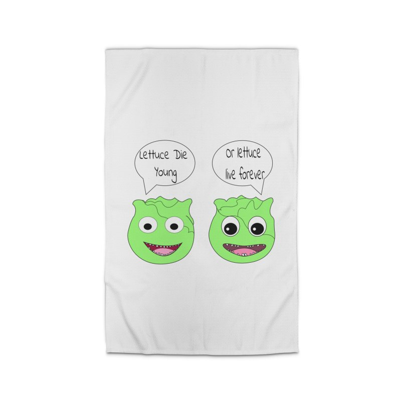 Forever Lettuce (Misheard Song Lyric)  Home Rug by Birchmark