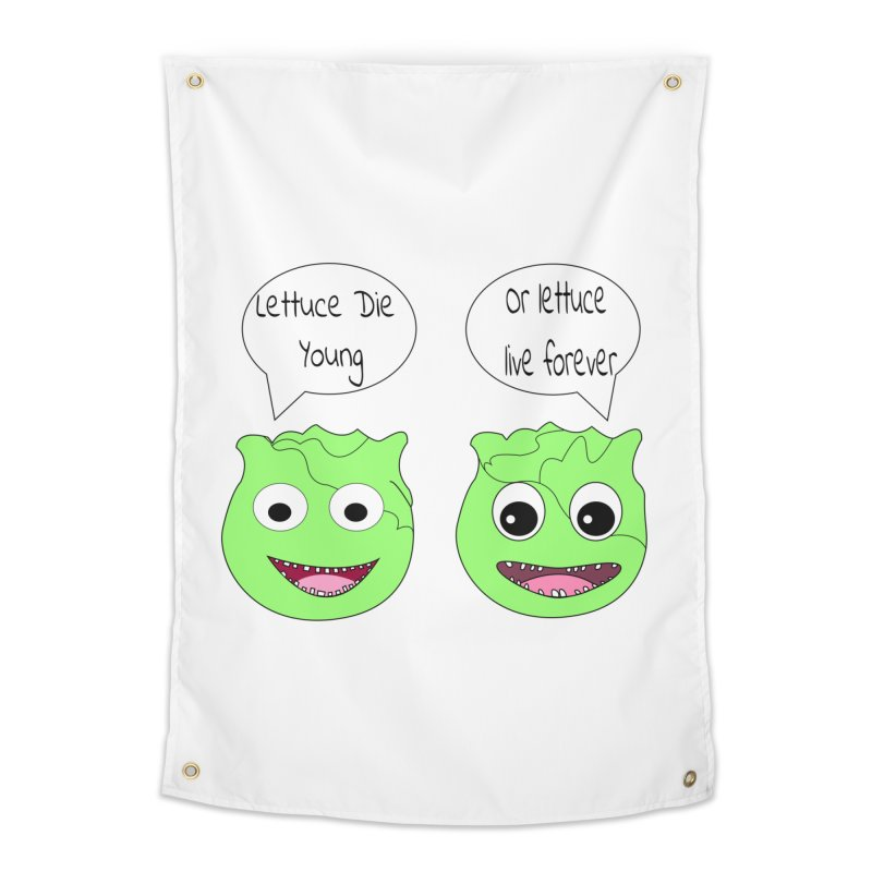 Forever Lettuce (Misheard Song Lyric)  Home Tapestry by Birchmark