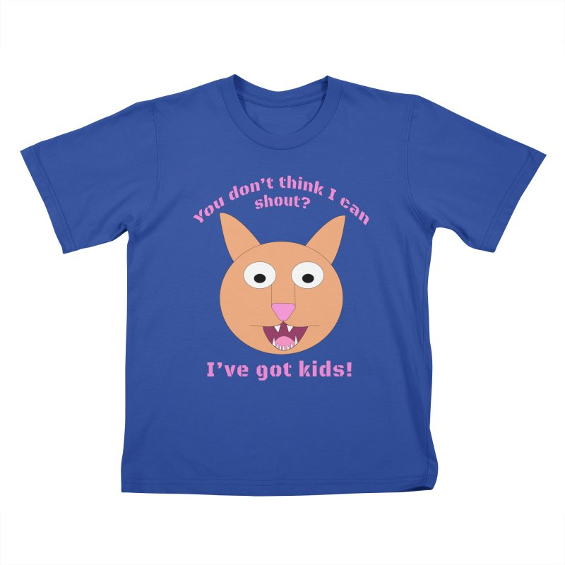 Carrie and The Shout (BUB) Kids T-Shirt by Birchmark