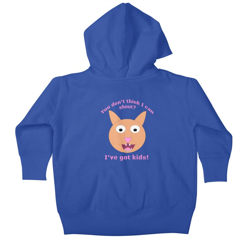 Carrie and The Shout (BUB) Kids Baby Zip-Up Hoody by Birchmark