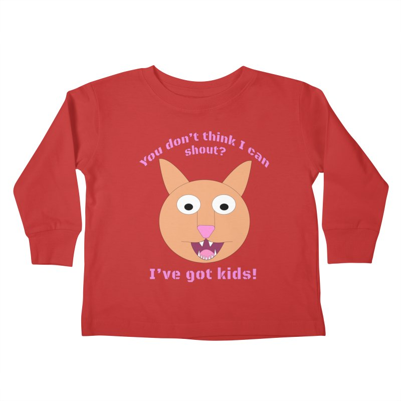 Carrie and The Shout (BUB) Kids Toddler Longsleeve T-Shirt by Birchmark