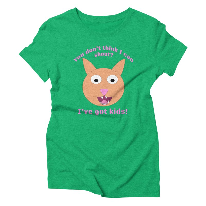 Carrie and The Shout (BUB) Women's Triblend T-Shirt by Birchmark