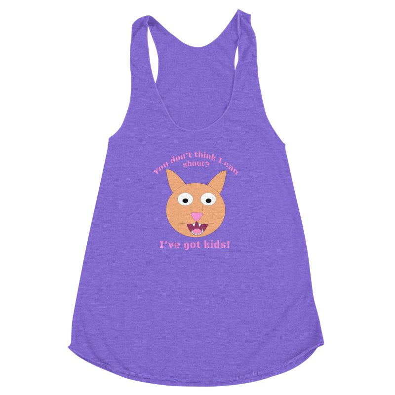 Carrie and The Shout (BUB) Women's Racerback Triblend Tank by Birchmark