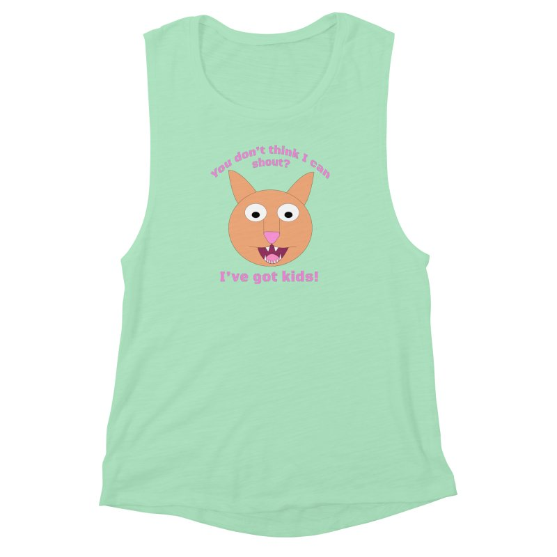 Carrie and The Shout (BUB) Women's Muscle Tank by Birchmark