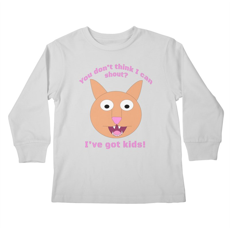 Carrie and The Shout (BUB) Kids Longsleeve T-Shirt by Birchmark