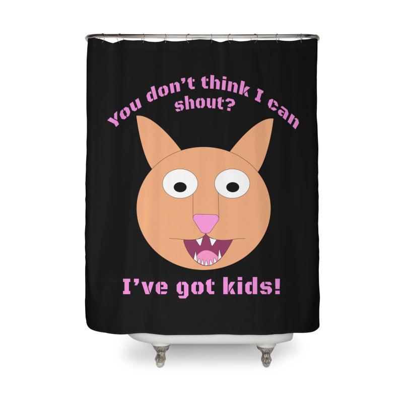 Carrie and The Shout (BUB) Home Shower Curtain by Birchmark