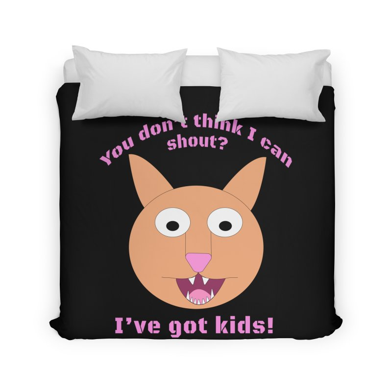 Carrie and The Shout (BUB) Home Duvet by Birchmark