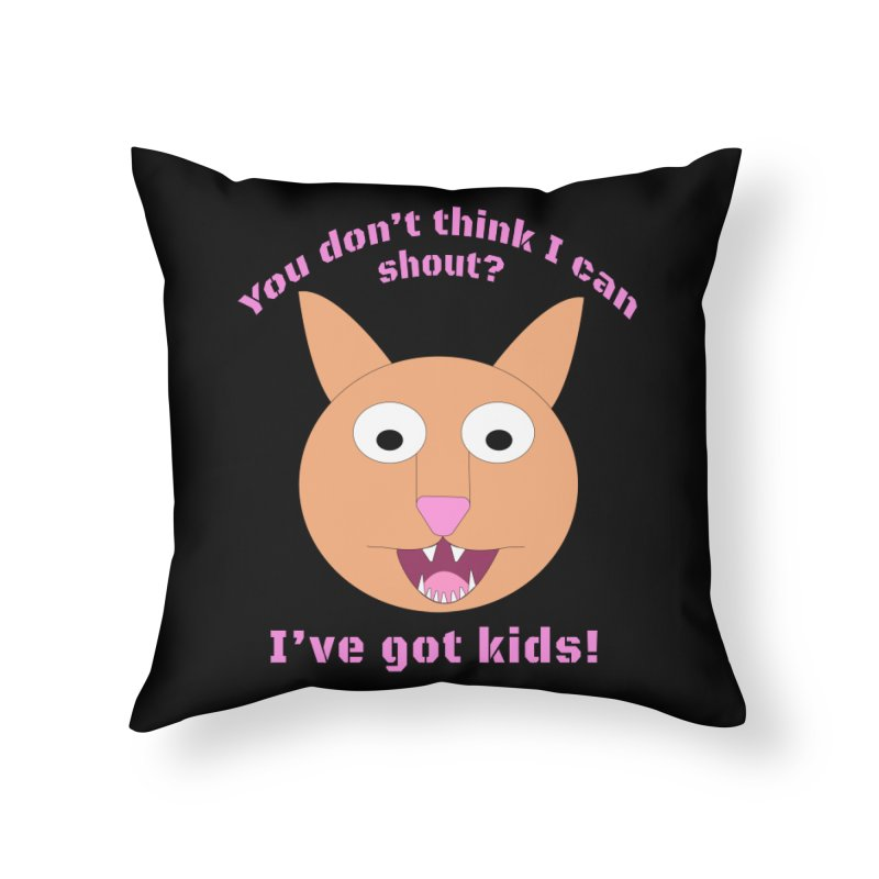 Carrie and The Shout (BUB) Home Throw Pillow by Birchmark