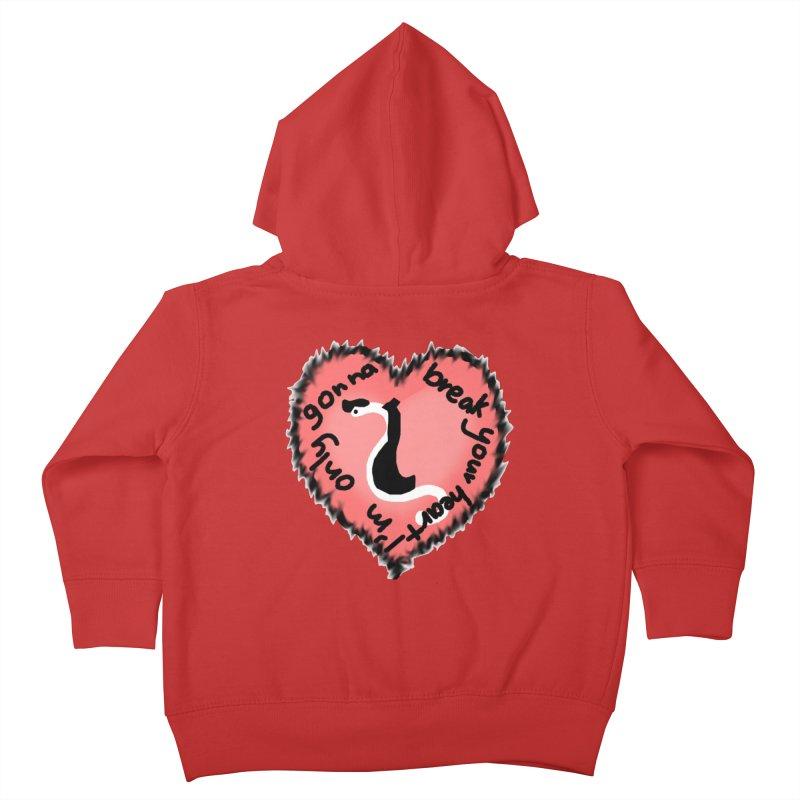 Heartworm Heart Throb Kids Toddler Zip-Up Hoody by Birchmark