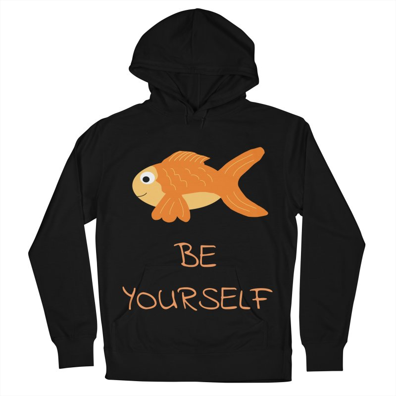 The Be Yourself Fish Women's Pullover Hoody by Birchmark