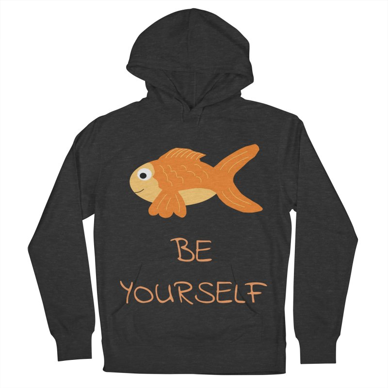 The Be Yourself Fish Men's Pullover Hoody by Birchmark