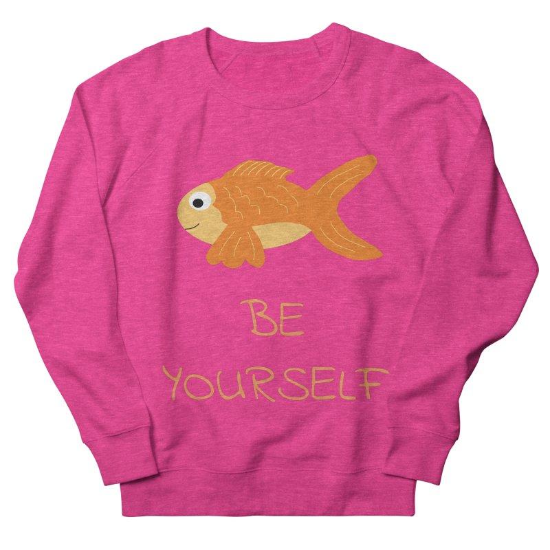 The Be Yourself Fish Women's Sweatshirt by Birchmark