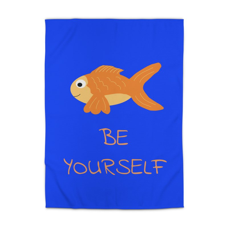 The Be Yourself Fish Home Rug by Birchmark