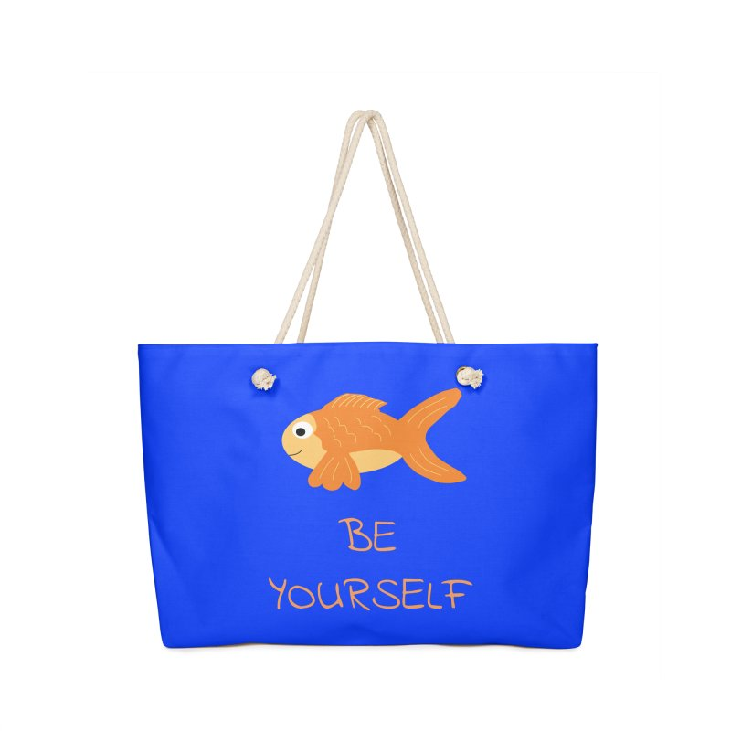 The Be Yourself Fish Accessories Bag by Birchmark