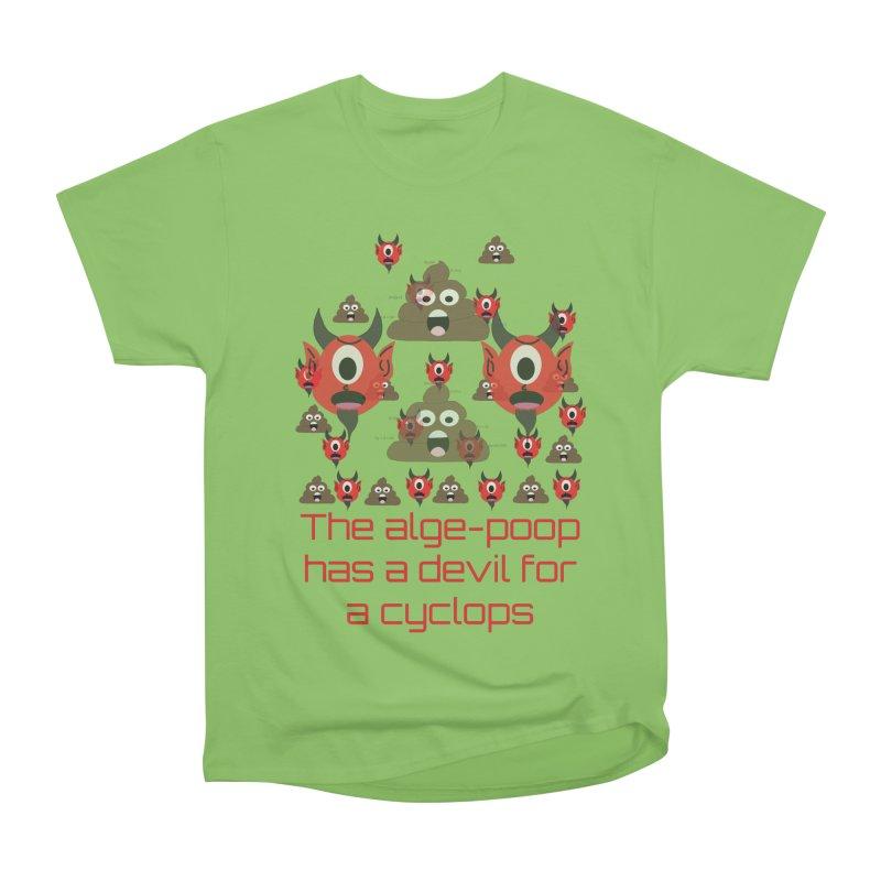 Algepoopian rhapsody (Misheard Song Lyric) Men's Heavyweight T-Shirt by Birchmark