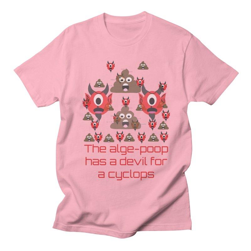Algepoopian rhapsody (Misheard Song Lyric) Men's Regular T-Shirt by Birchmark
