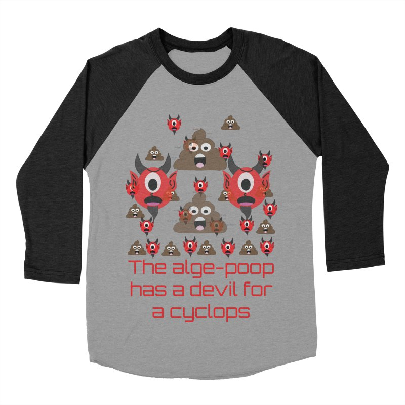 Algepoopian rhapsody (Misheard Song Lyric) Women's Baseball Triblend T-Shirt by Birchmark