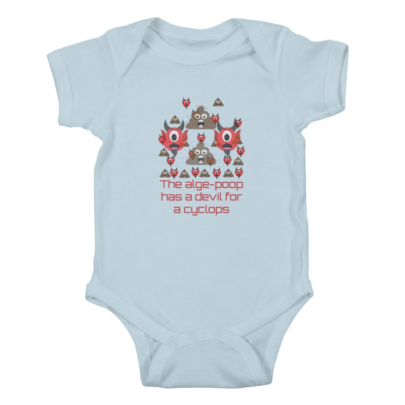 Algepoopian rhapsody (Misheard Song Lyric) Kids Baby Bodysuit by Birchmark
