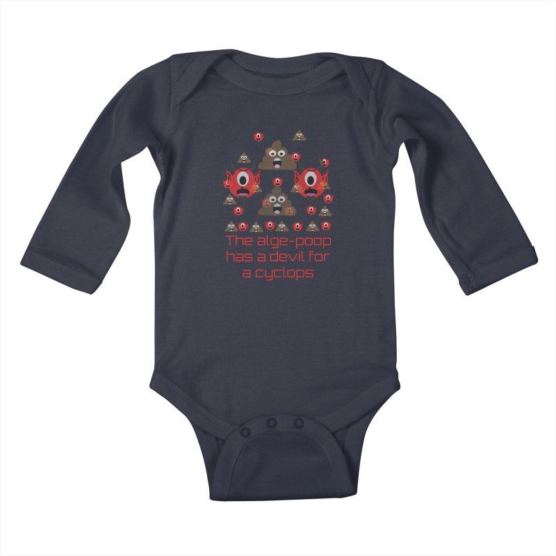 Algepoopian rhapsody (Misheard Song Lyric) Kids Baby Longsleeve Bodysuit by Birchmark