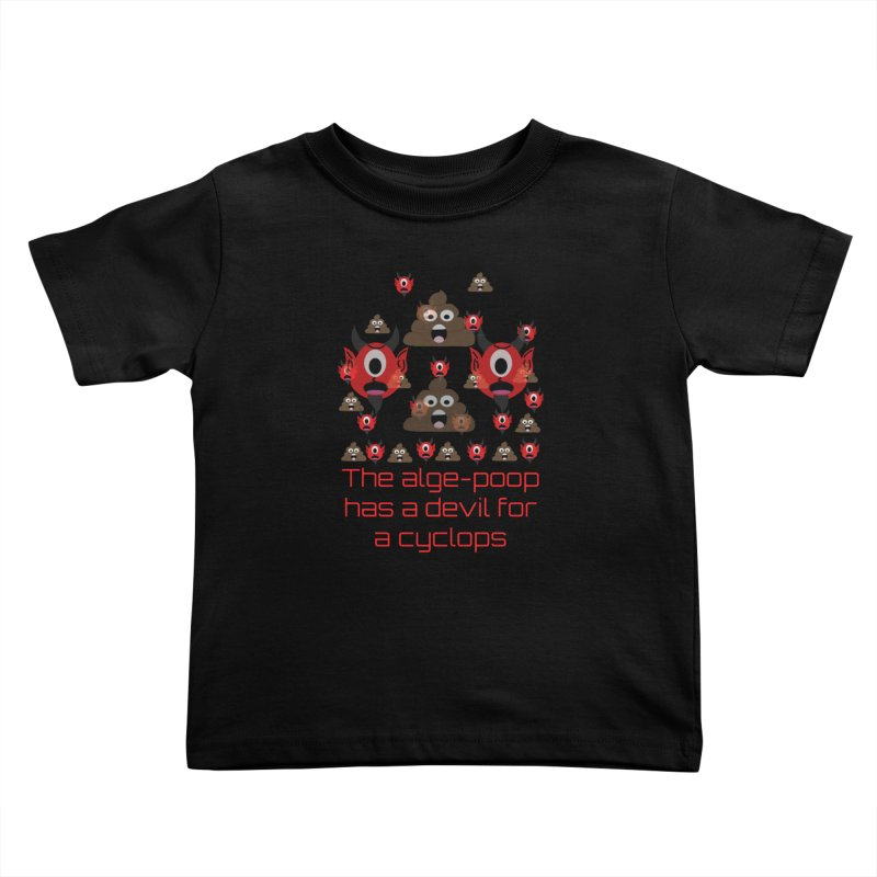 Algepoopian rhapsody (Misheard Song Lyric) Kids Toddler T-Shirt by Birchmark