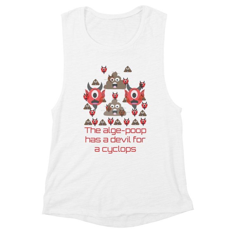 Algepoopian rhapsody (Misheard Song Lyric) Women's Muscle Tank by Birchmark