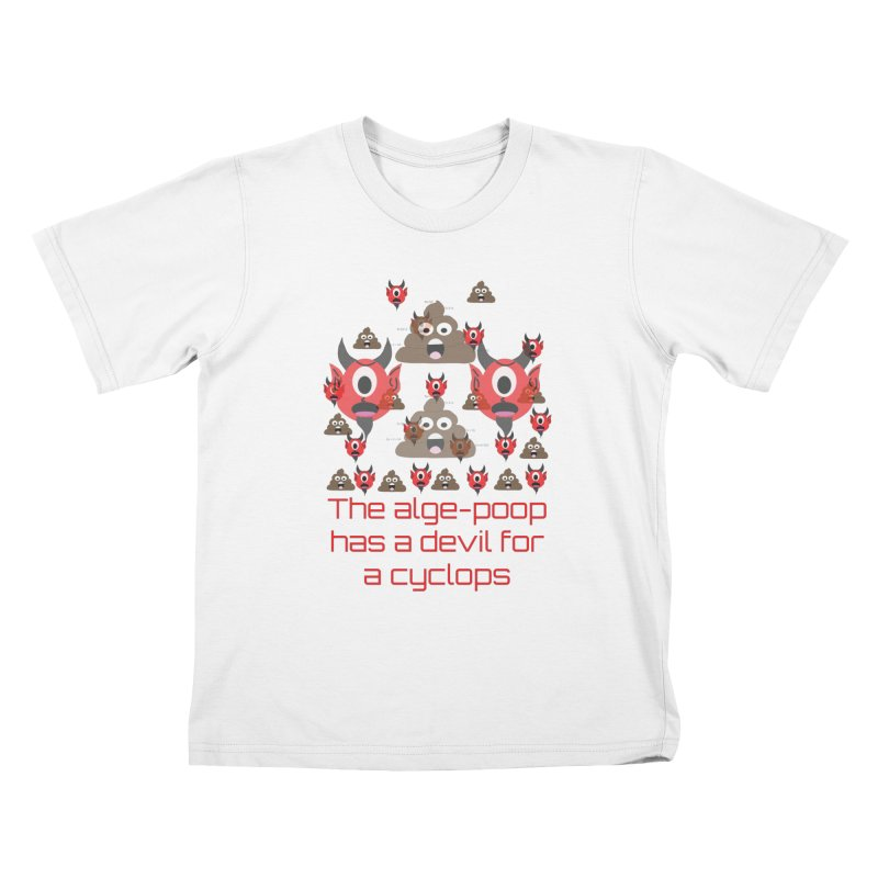 Algepoopian rhapsody (Misheard Song Lyric) Kids T-Shirt by Birchmark