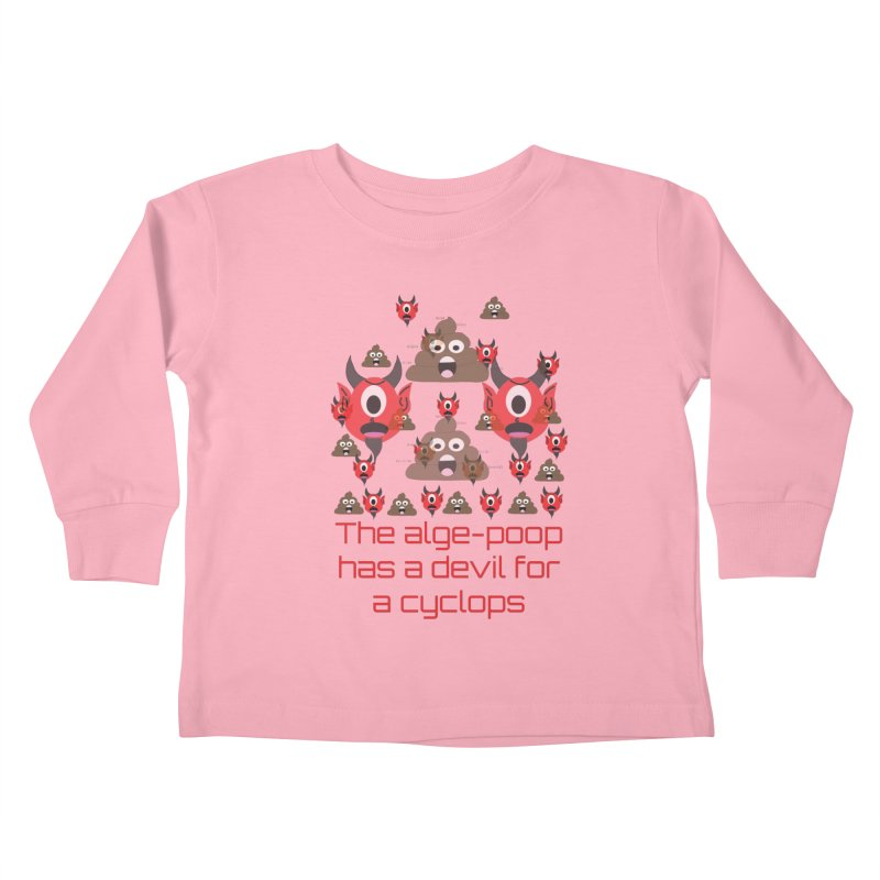 Algepoopian rhapsody (Misheard Song Lyric) Kids Toddler Longsleeve T-Shirt by Birchmark