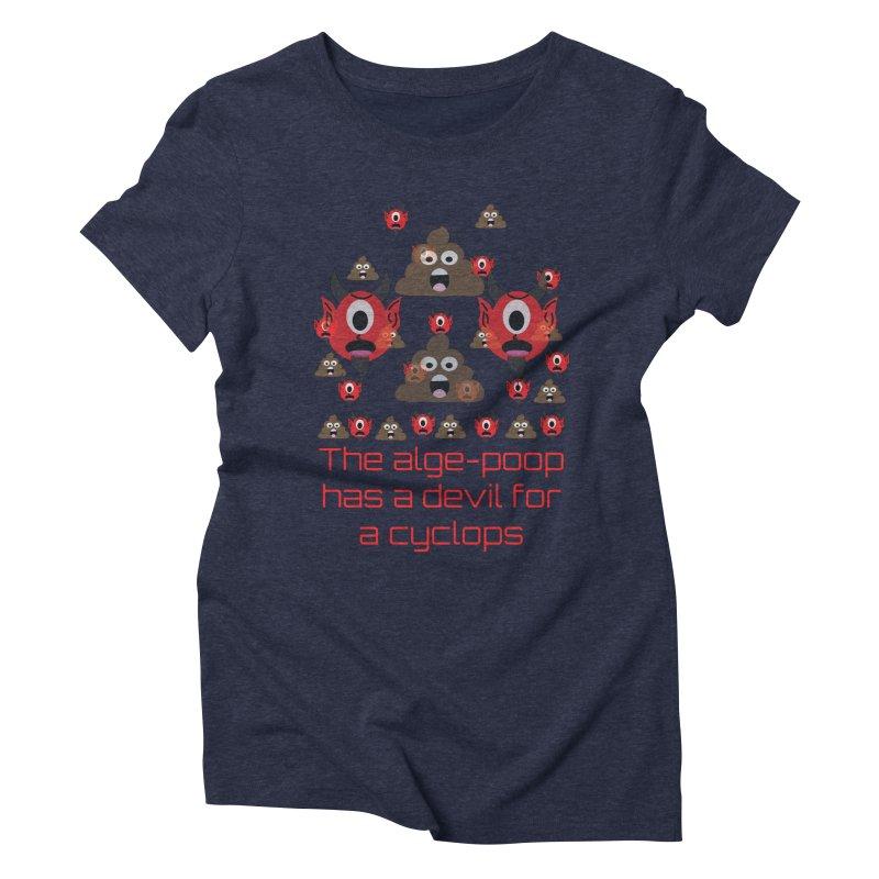 Algepoopian rhapsody (Misheard Song Lyric) Women's Triblend T-Shirt by Birchmark