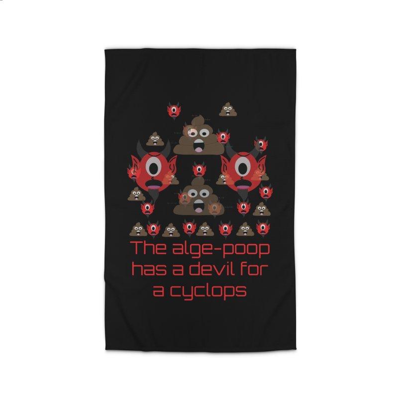 Algepoopian rhapsody (Misheard Song Lyric) Home Rug by Birchmark