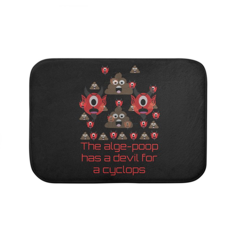 Algepoopian rhapsody (Misheard Song Lyric) Home Bath Mat by Birchmark