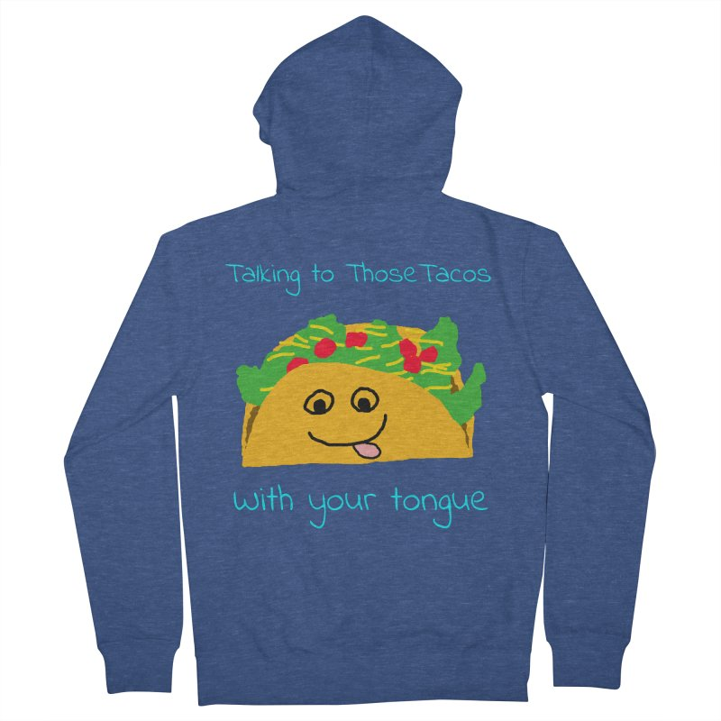 Taco Tongue - Misheard Song Lyric #2 Men's Zip-Up Hoody by Birchmark