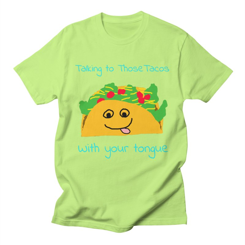Taco Tongue - Misheard Song Lyric #2 Men's T-shirt by Birchmark