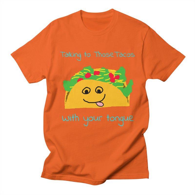 Taco Tongue - Misheard Song Lyric #2 Men's T-Shirt by Birchmark