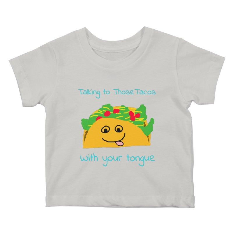 Taco Tongue - Misheard Song Lyric #2 Kids Baby T-Shirt by Birchmark