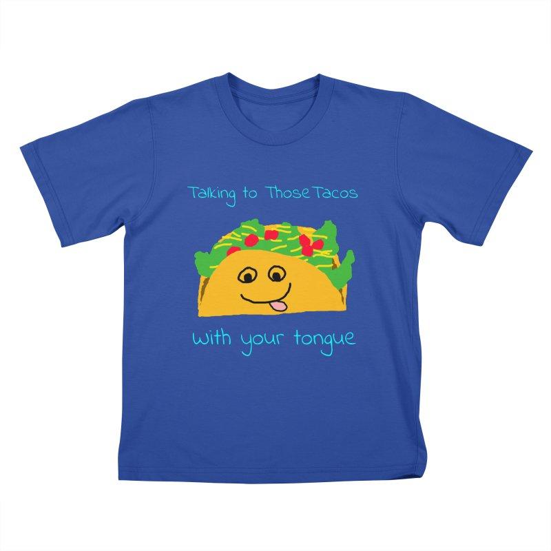Taco Tongue - Misheard Song Lyric #2 Kids T-shirt by Birchmark