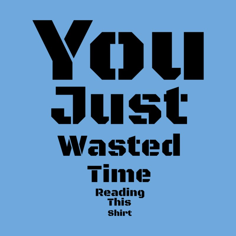 Wasted Time Men's V-Neck by Birchmark