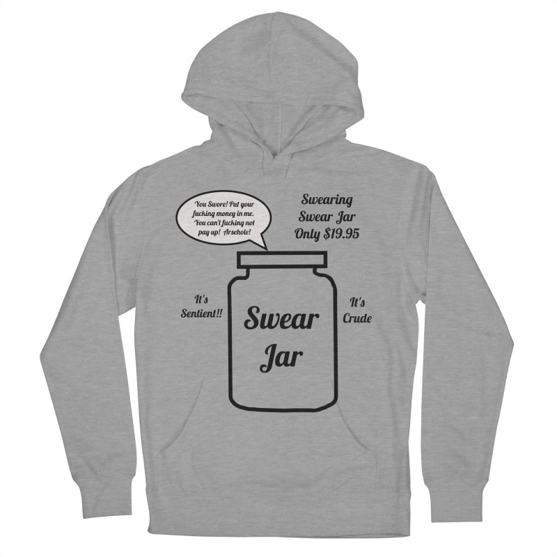 Swearing Swear Jar Ad Men's French Terry Pullover Hoody by Birchmark