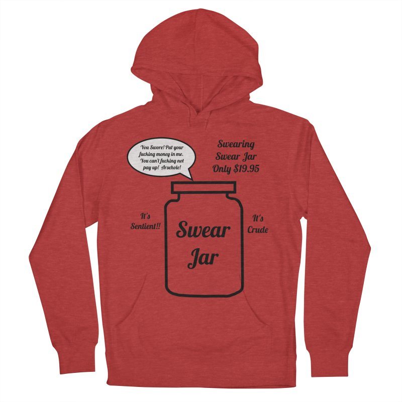 Swearing Swear Jar Ad Men's French Terry Pullover Hoody by Birchmark